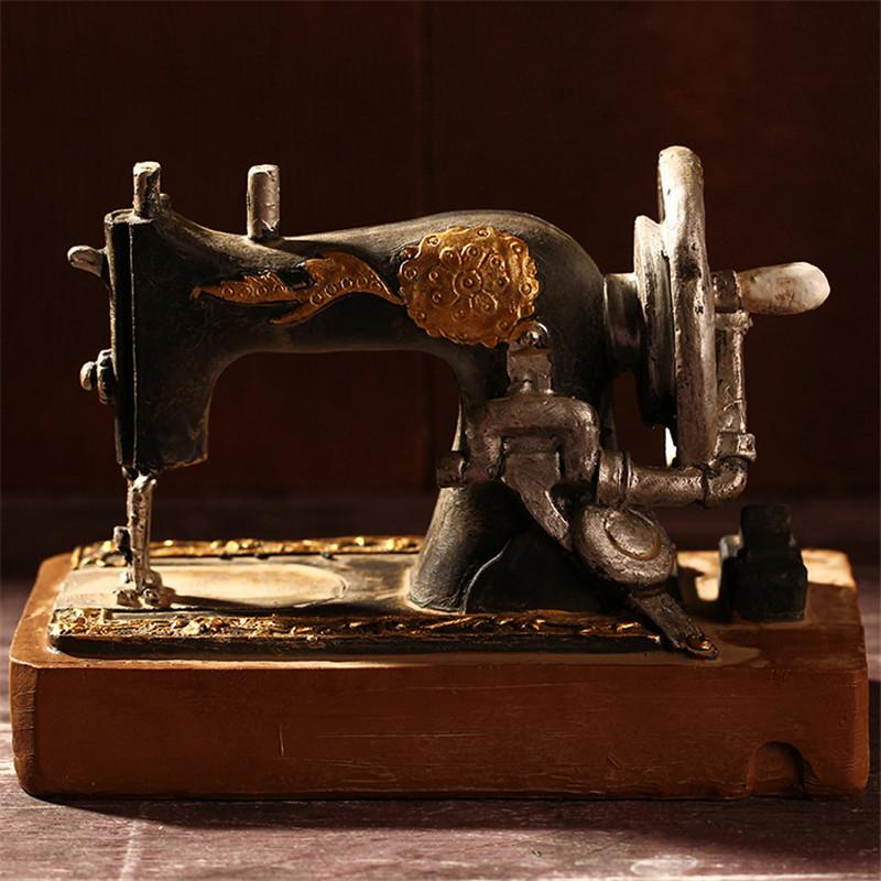 Zakka Unique Gift Bar Vintage Home Decor Sewing Machine Home ...