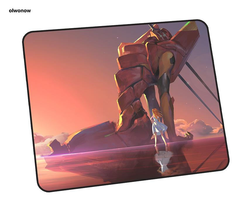 NEON GENESIS EVANGELION mouse pad gamer 35x30cm notbook mouse mat gaming mousepad present pad PC desk padmouse