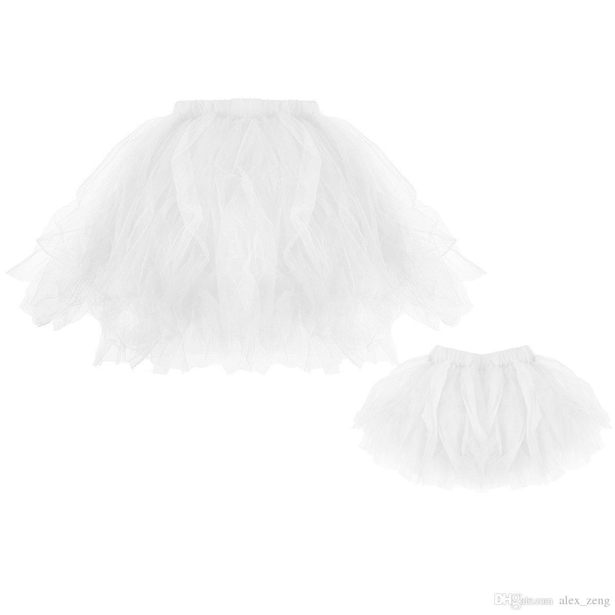 Baby Mädchen Tutu Kleid Mutter und Tochter Rock Kleider Familie passende Outfits Kleidung Baby Mädchen und Mama Ballett Tanz Tutu Rock