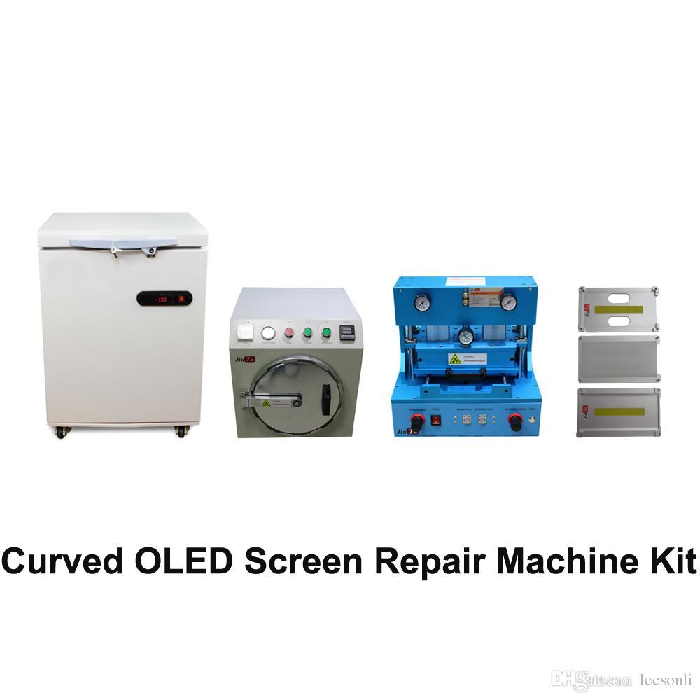 OLED Edge LCD Screen Repair Machine Set for iPhone X Glass Refurbishment ,For Samsung S8 S8 Plus S7 Edge Curved Screen Fix