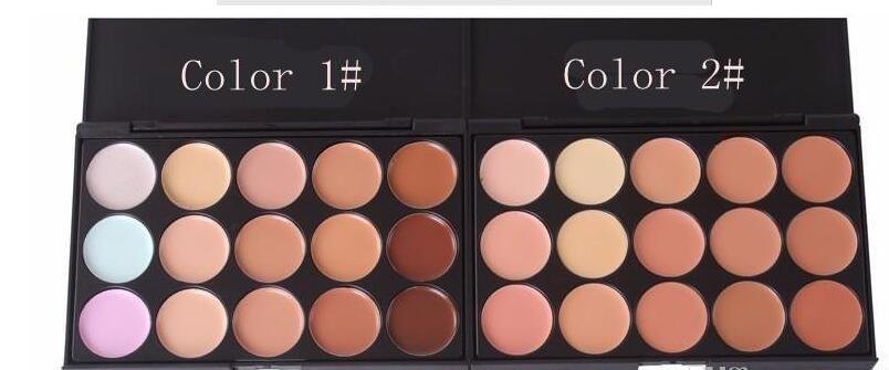 Professional Concealer Foundation Contour Face Cream Makeup Palette Pro Tool for Salon Party Wedding Daily