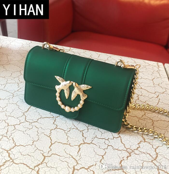 Factory Independent Brand Women Bag Summer New Matte Jelly Chain Bag Small  Fragrant Wind PVC Fashionable Swallow Bag Lovely Color Handbag Wholesale Bag  ... dfaa10c1b967c