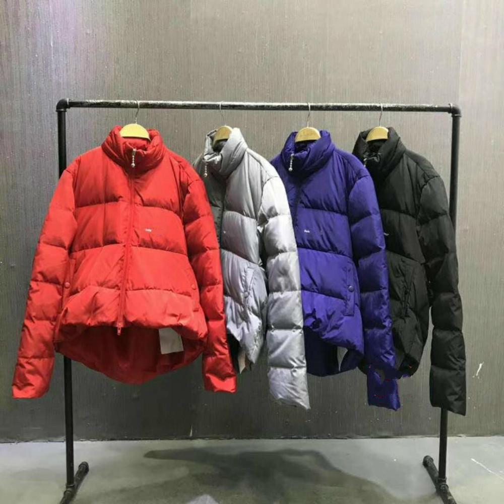 Luxury Designer Winter Zippe Duck Down Warm Clothes Men And Woman High Quality Loose designer Coat HFWPYRF040