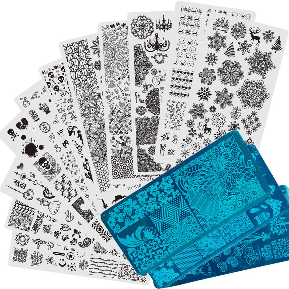 20 Different Designs Nail Stamping Sets Lace/Halloween/Christmas ...