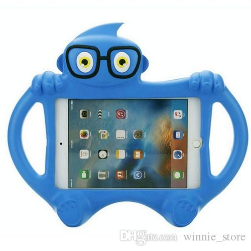For new iPad 2017/2018 pro 9.7 air2 2/3/4 mini Kids Cute Cartoon Style ShockProof EVA Foam Stand Case Cover+Gifts