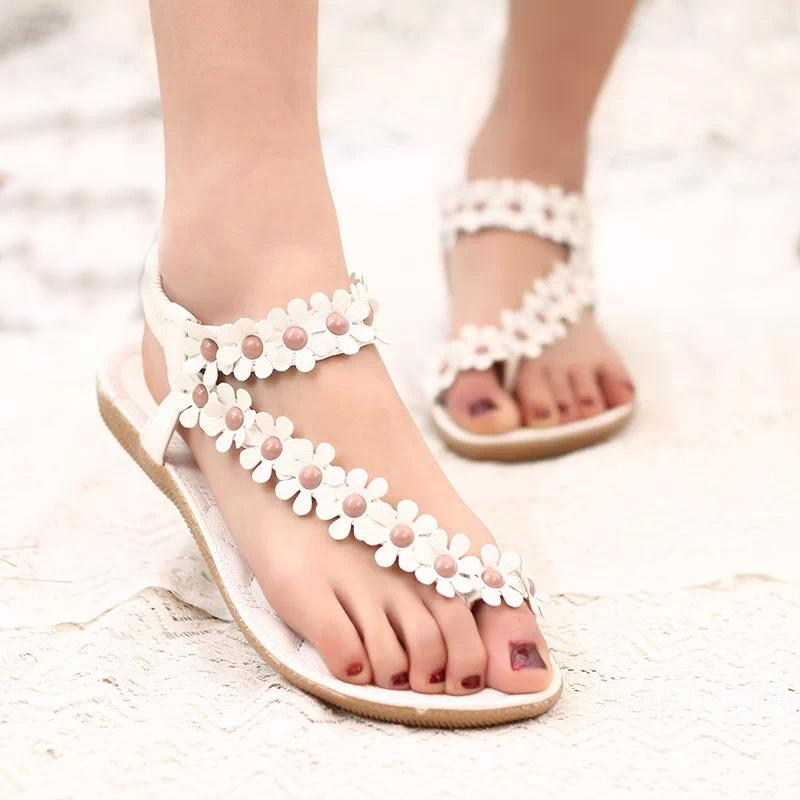 c5d6cd038477 2018 Women Sandals Summer Style Bling Bowtie Fashion Peep Toe Jelly Shoes  Sandal Flat Shoes Woman 01F669 Womens Sandals Orthopedic Shoes From  Jerry06