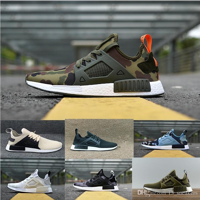the latest a8997 e616d Compre Adidas Nmd Hu Pharrell Sneakers Venta Al Por Mayor 2018 Corredor R2  Mesh Triple Blanco Negro Azul Rosa Verde Hombres Mujeres Zapatos Casuales  ...