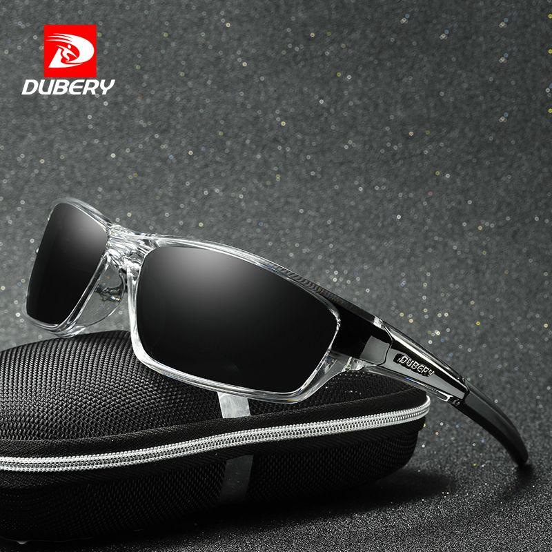 8430801a924d2 DUBERY Polarized Night Vision Aviation Sunglasses Men S Retro Male Sun  Glasses For Men Cool Brand Luxury Mirror Shades Oculos Best Sunglasses For  Men ...