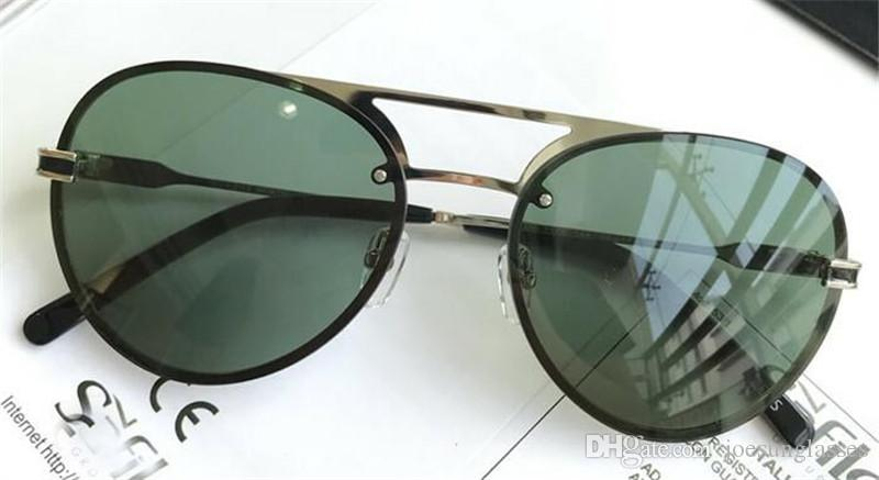 d7fbcd20a7 Fashion Designer Sunglasses Classic Selling Popular 717 Glasses Pilots  Frameless Uv400 Protection Eyewear Top Quality with the Original Box  Designer ...
