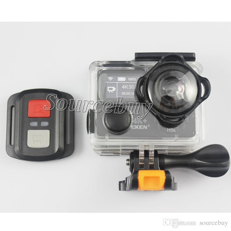 EKEN H5S Plus Ultra 4K 30FPS Wifi Touch Screen Action Camera 30M waterproof 1080p go EIS Image Stabilization 12MP pro Sport Cam Camcorder
