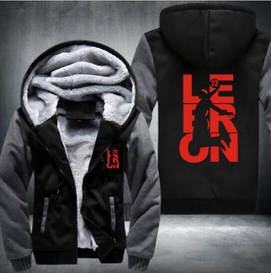 2019 2018 Lebron Hoodies Sweatshirts Men Cotton Fleece Men And Women ... c1848f5fcd