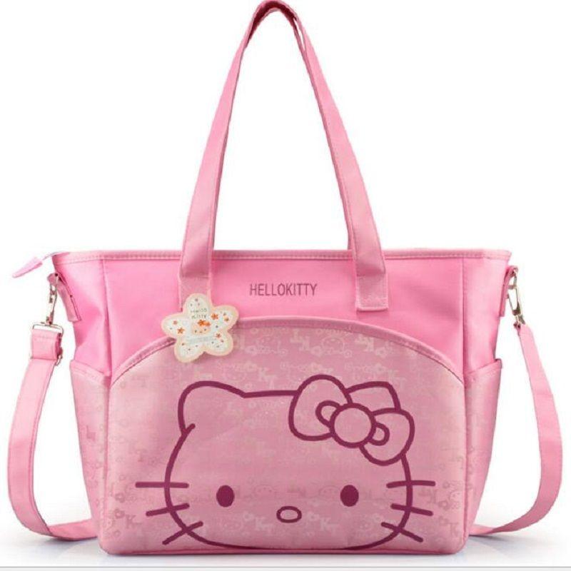 0e4e7a4888a2 Oxford Hello Kitty Mummy Bag Women Casual Shopping Bag Cartoon Women Tote  Picnic Bag Women Cartoon Bag Cartoon Bag Women Online with  31.6 Piece on  Goin s ...