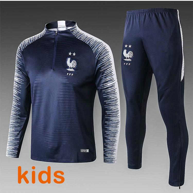 379027951cb 2018 Kids World Cup Champions Tracksuit 2 Stars Two Home GRIEZMANN ...