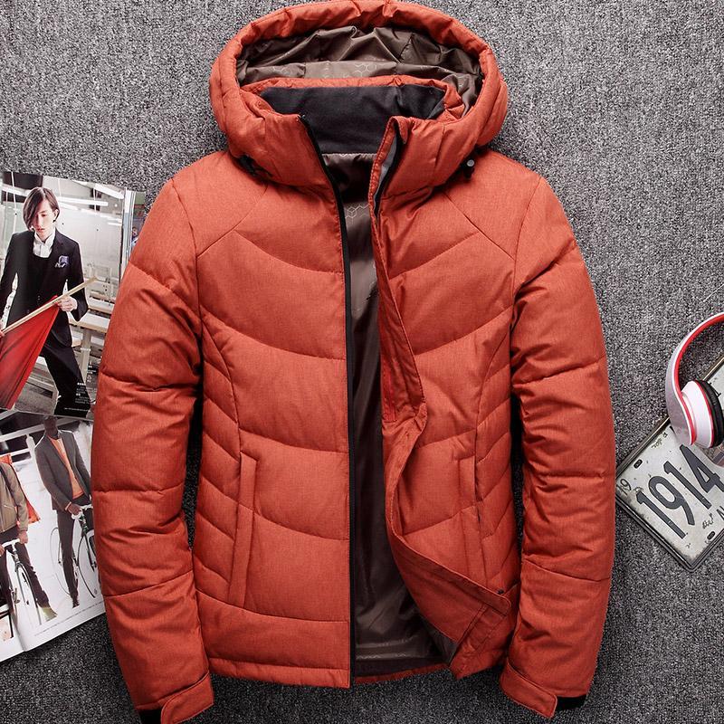 Wholesale-Winter Coat Men Down Jackets Short Design Male Thickening ... 7457d1487844