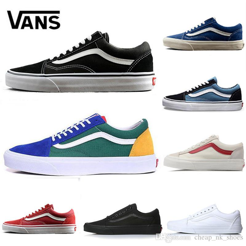 Original Quality Vans Old Skool Yacht Club Men Women Casual Shoes ... 4a958e331