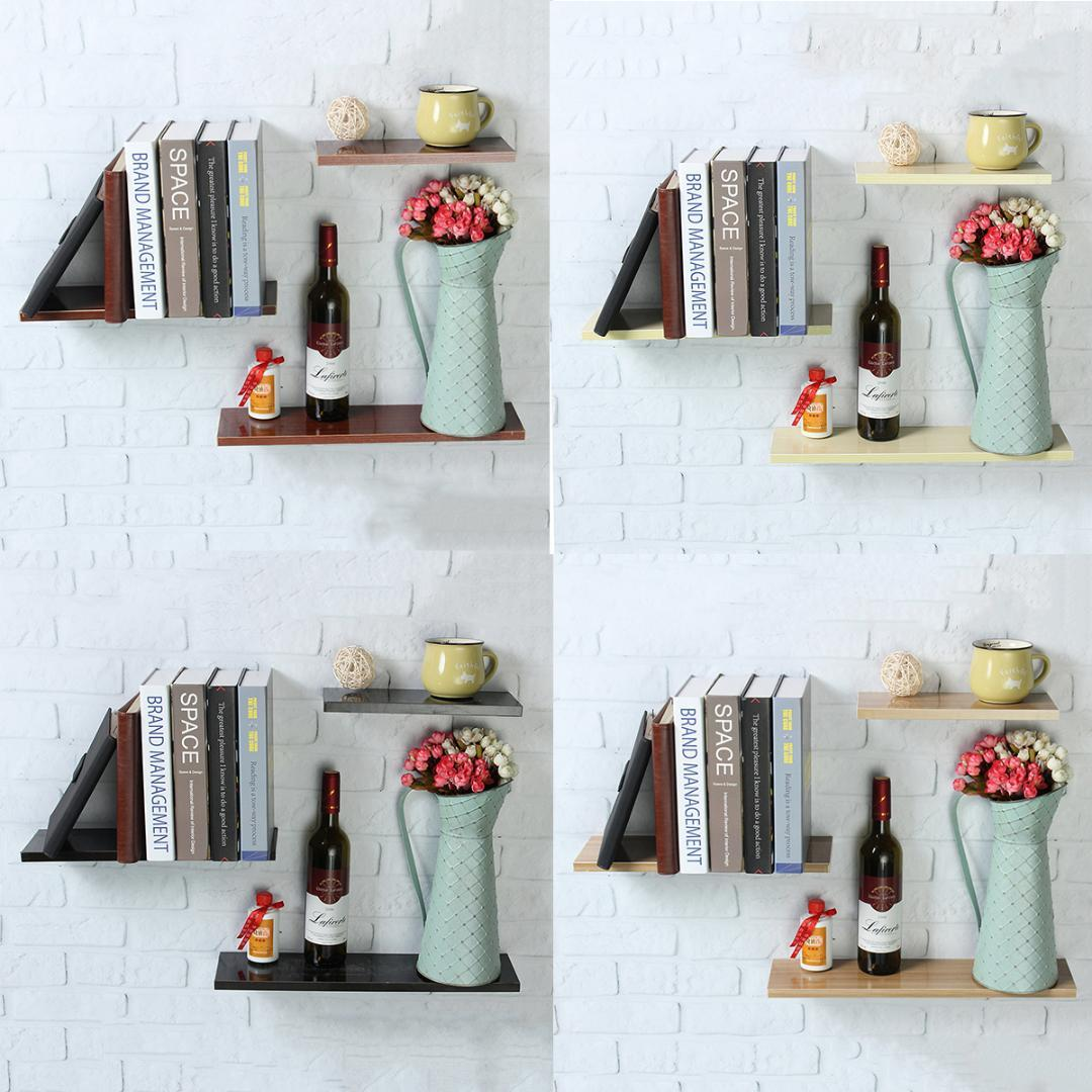 Pleasant Simple Wooden Decorative Wall Shelf Storage Rack Organization For Kitchen Kid Room Diy Wall Decoration Holder Home Decor Home Interior And Landscaping Fragforummapetitesourisinfo