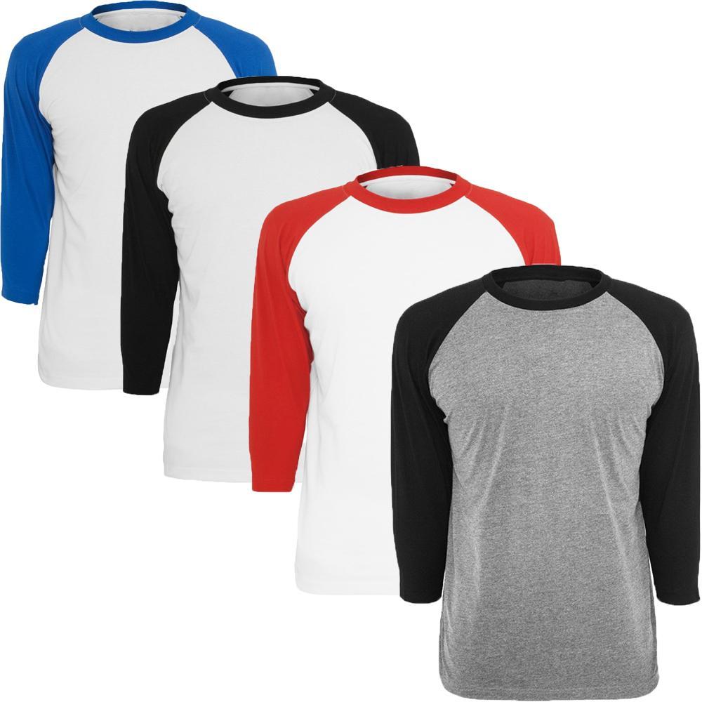 581fe74a768f6 Compre Camiseta Para Hombre De Cuello Redondo Camiseta De Béisbol Para  Hombre De Manga 3 4 Casual Camiseta De Jersey Raglán es Disponibles A   44.08 Del ...
