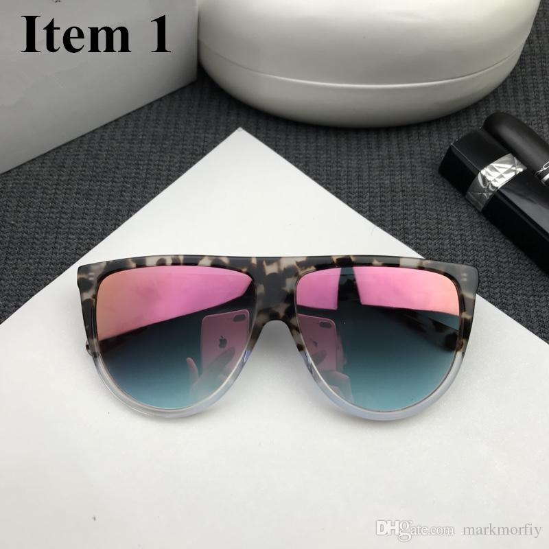eda5297c133 France Retro Brand Design Sunglasses Women Men Super Black  Gold ...