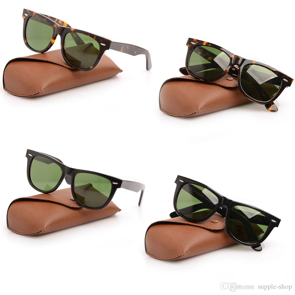 1fa000e67c9 Wayfarers Sunglasses Green Lens Glasses High Quality Plank 2140 ...