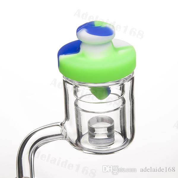 Silicone Carb Cap Air Hole Colored Bubble 4 Kinds Bottle Dome For Banger Nail 2mm 3mm 4mm Enail Domeless Nails Dab Rig 520