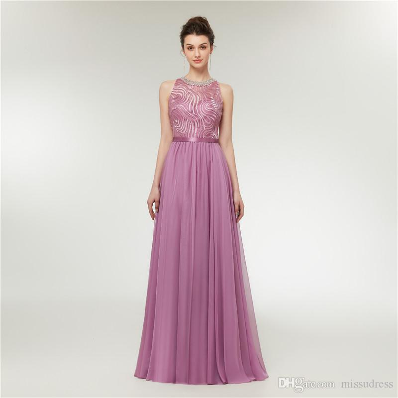 237ea031ab0d Púrpura, una línea de vestidos de baile, gasa, verano, mujer, vestidos de  noche formales, largos y elegantes vestidos de baile árabes baratos