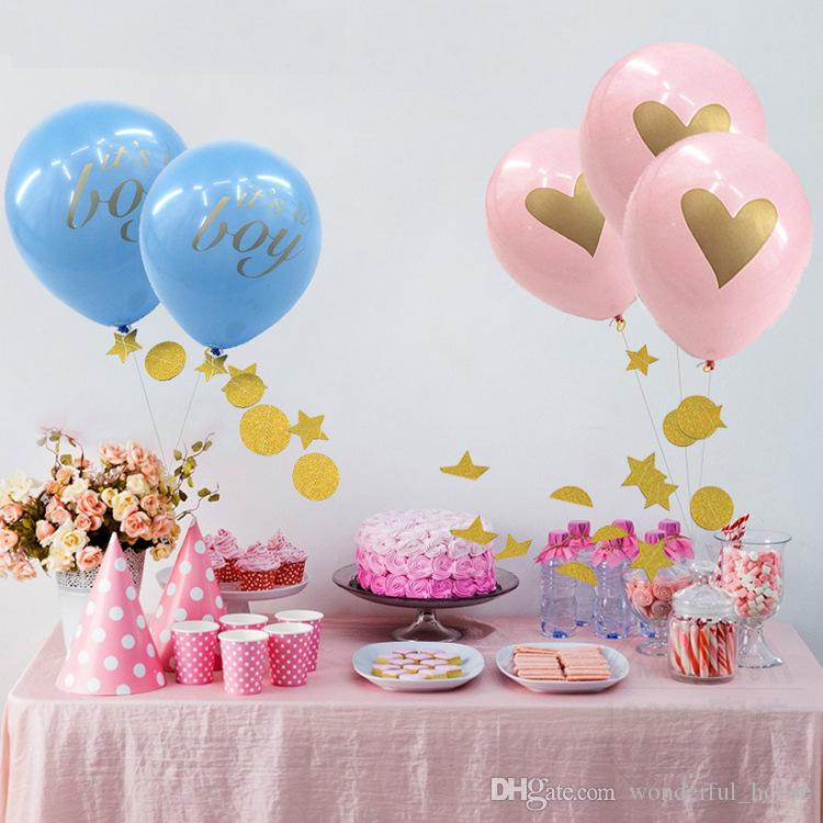 2019 Kids Birthday Balloons 13 Designs 10 Inches Latex Baby Party Decorations Newborn Shower From Wonderful House
