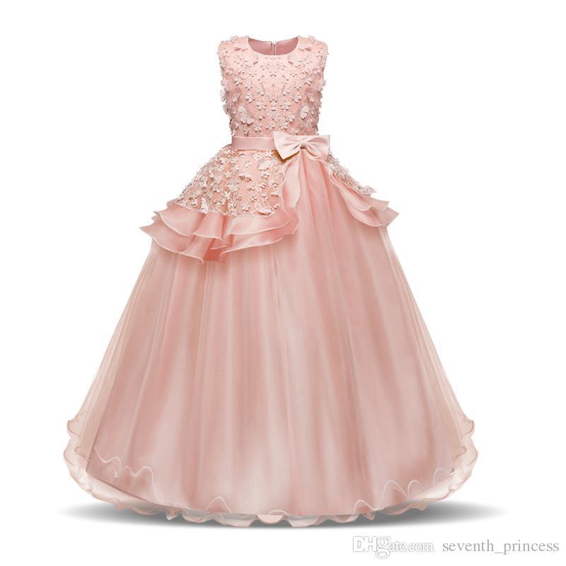 Grosshandel Teen Girl Party Kleid Hochzeit Lange Ballkleid Kleider