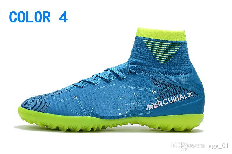Yeni Boy Mercurial Unisex Superfly V TF Futbol Cleats Cristiano Ronaldo Erkekler CR7 Çocuklar Futbol Ayakkabıları Çocuk futbol çizmeler Kadın Futbol Çizmeler
