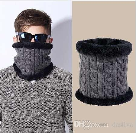 Großhandel Dexing Unisex Winter Strickschals Gamasche Plus Baumwolle