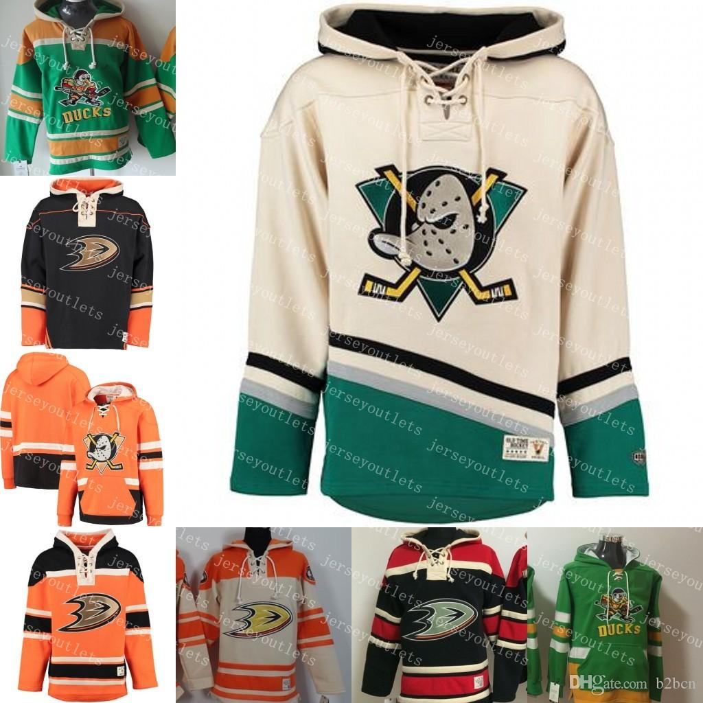 a1111194bc0 2019 Mens Winter Anaheim Ducks 15 Ryan Getzlaf 10 Corey Perry 17 Ryan  Kesler Customized Hoodie Old Time Hockey Hoodies Personalzied Sweatshirts  From B2bcn