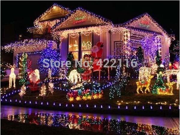 2018 Christmas Lights 50M 400 SMDs LED String Strip Garlands EU/UK ...