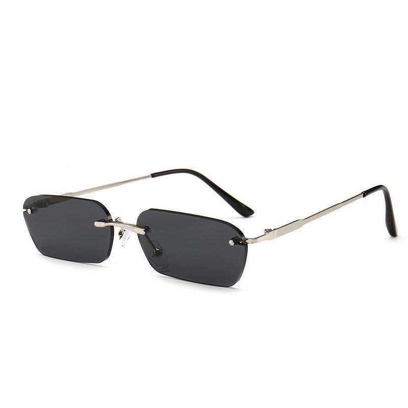 2018 New Frameless Square Frames, Ladies Sunglasses, Fashion Design ...