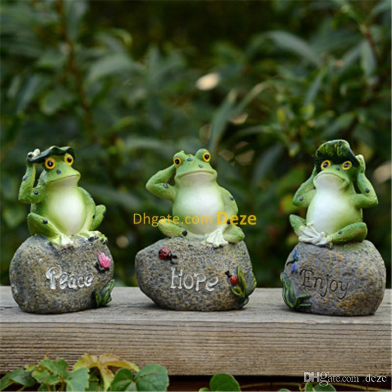 2019 12cm High Home Garden Resin Decoration Outdoor Art Resin Animal  Figurine Frog Ornament Yard Garden Decor From Deze, $22.99 | DHgate.Com