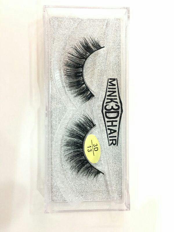 Brand New 3D Mink hair False Eyelashes Real Thick Mink Hair for Beauty Fake Lashes 18 styles available DHL Free
