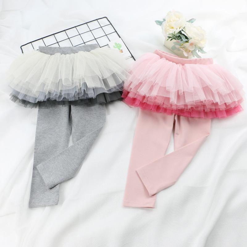 f4fcef6c3 Kids Clothing Girls Gradient Pantskirt Tutu Skirt Autumn Winter ...