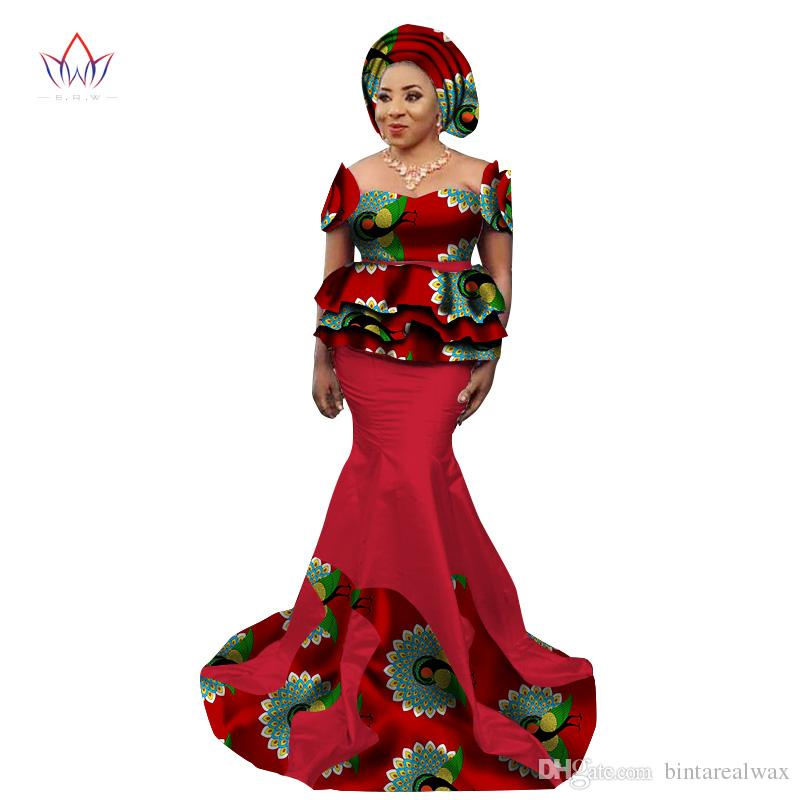 9b56fcb39a BRW 2017 New African Skirt Set for Women Dashiki Elegant African Clothes  Applique Plus Size Traditional African Clothing WY2240 Skirt Set  Traditional ...