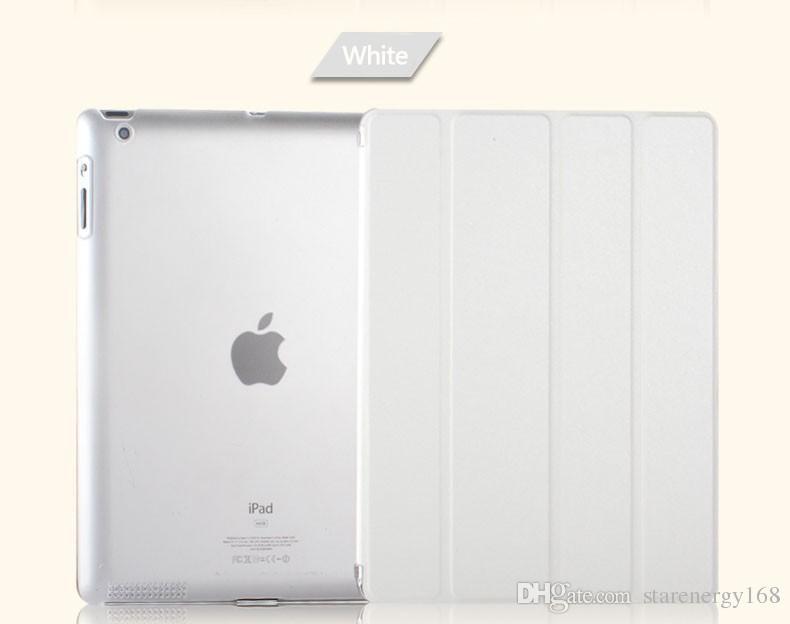 Para ipad pro 10.5 9.7 mini air 2 dobrável magnética inteligente capa matte casos padrão de seda capa com auto sono wake