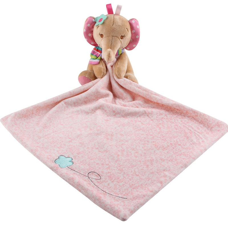 Newborn Baby Towel Appease Grasping Soft Comforting Doll 2018 Cute Animal Infant Bath Towel Child Supplies Sleeping Toys