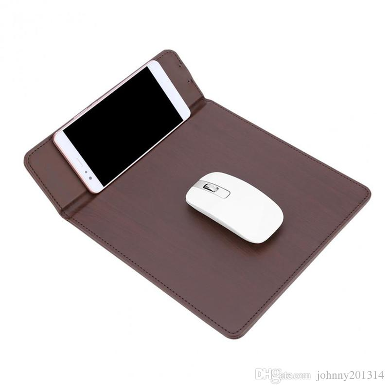 New Multifunctional Wireless Charger Charging Pad With Mouse Mat Power For Samsung S8 Plus S7 S6 Edge Note 5 Smart Mobile Phones