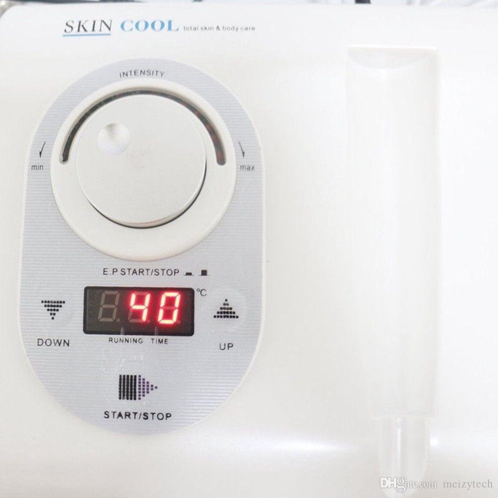2in1 أحدث Cryo Electroporation Meso Meso Mesotherapy العناية بالوجه تجاعيد إزالة الجلد تشديد Hotcold مطرقة الجمال سبا