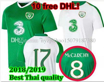 dbf783ba4 2020 Soccer Jersey IRELAND MULLER 19 20 CLARK WHELAN MURPHY LONG ...
