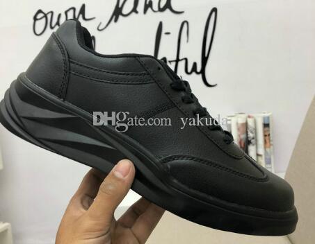Herren stilvolle freizeit leder sportschuhe kaufen < Schuhe