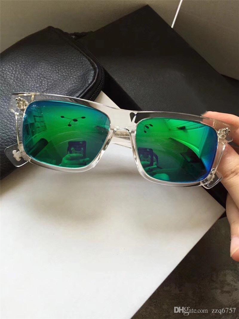 fae102e22f New Popular Retro Men Sunglasses Punk Style CRH Designer Retro ...