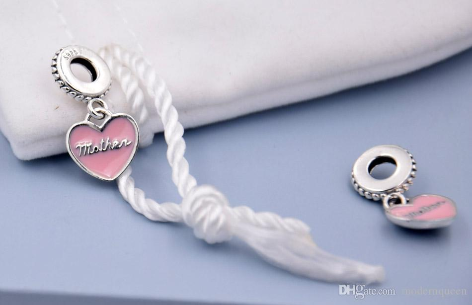 966e1d3da 2019 Mother Daughter Charms Pendants 925 Sterling Silver Fits Pandora Style  Jewelry Bracelets 792072EN40 H9 From Modernqueen, $73.82   DHgate.Com