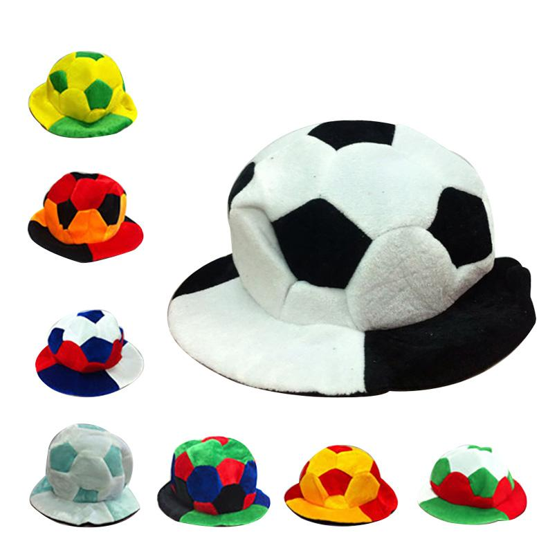 1a7f7e36281 Russia World Cup 2018 Football Caps Hats Football Fans Headwear  Cheerleading Team Props World Cup Adult Birthday Crowns Adult Birthday Hat  From ...