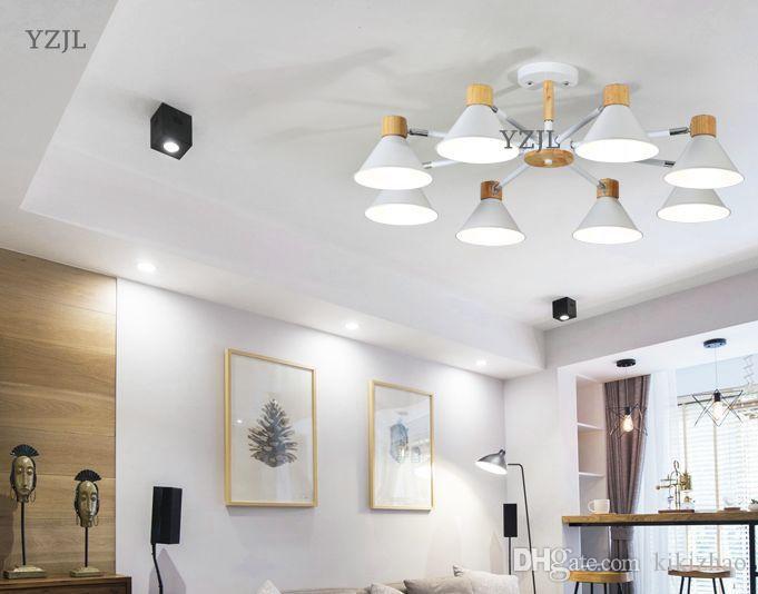 Lampadario soggiorno stile nordico moderno stile nordico lampada lampadario  soggiorno moderno semplice sala da pranzo studio camera da letto ...