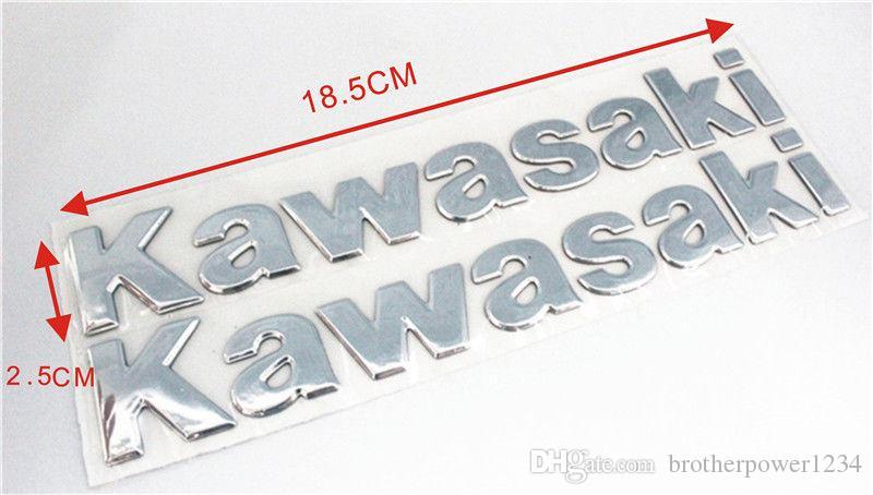 Tüm Kawasaki Ninja Modelleri Için etiket 3D 250 300 ZX10R ZX6R Z800 Z1000 Tankı Moto