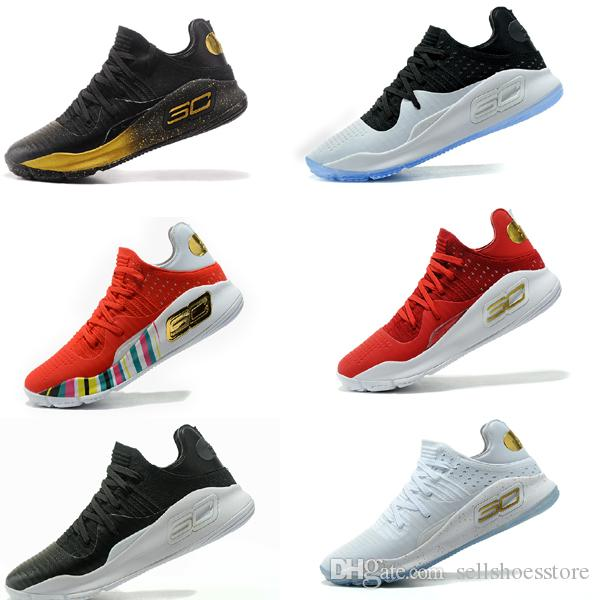 5fe948c4155a High Quality StephenCurry 4s Basketball Shoes Womens Curry4 Finals ...