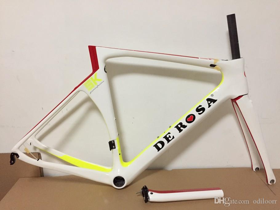 Hot Sales White SK Pininfarina Carbon Road Bike Frame Carbon Bicycle ...