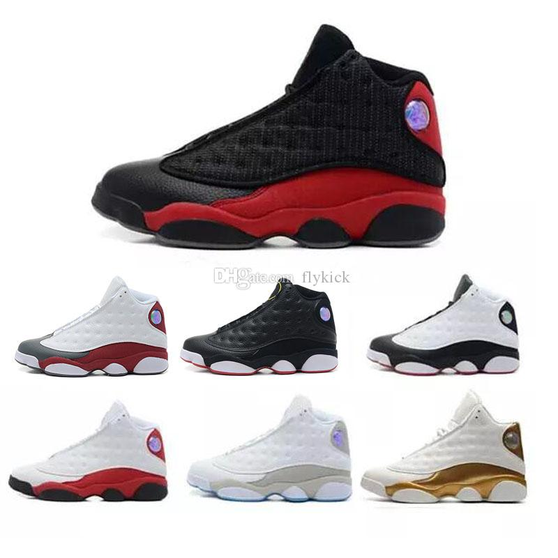 27d0545f357e49 2018 High Quality 13s Bred Chicago Flints Men Basketball Shoes 13s ...